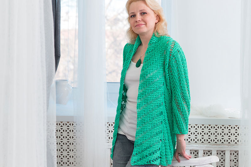Everyday crochet cardigan pattern